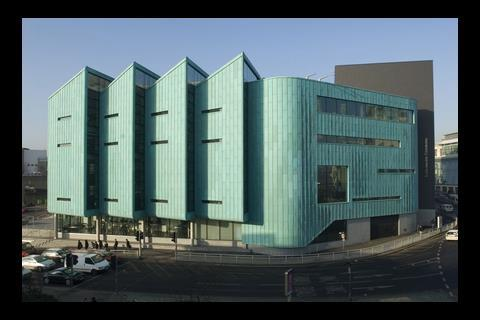 HBG's £15m Information Commons building at Sheffield university